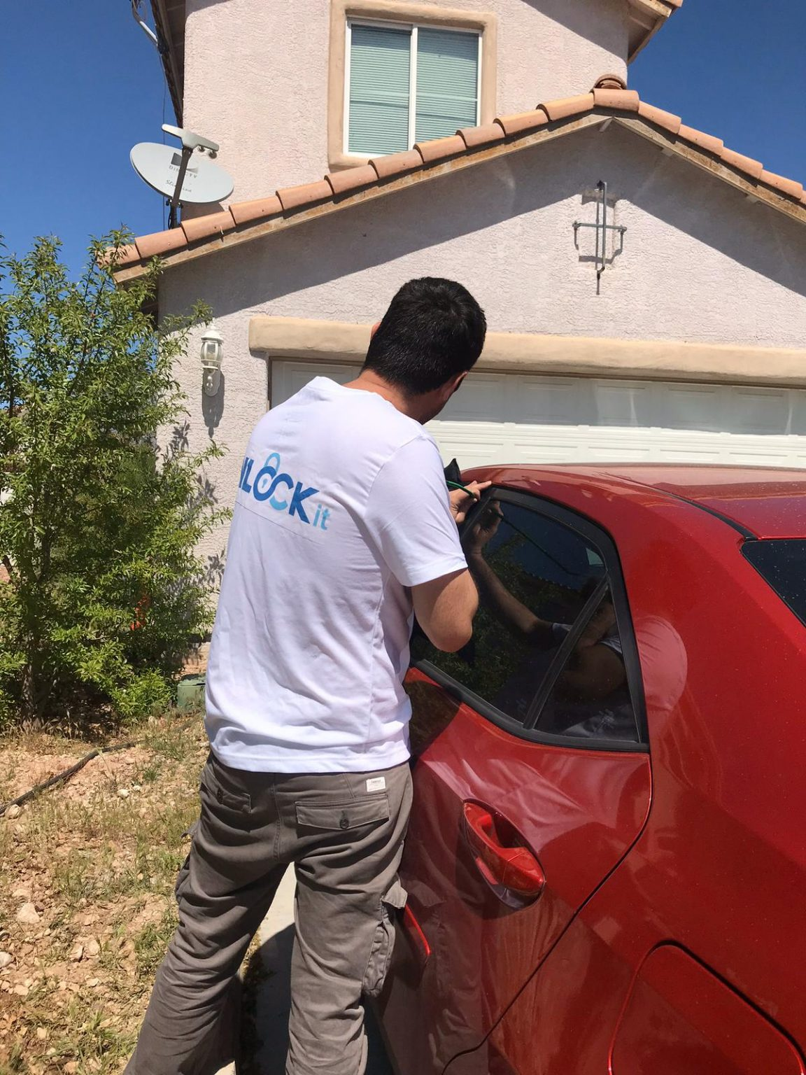 Unlock-a-car-door