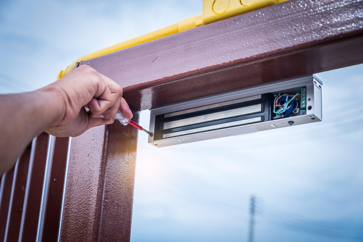 maglock-installed-by-locksmith